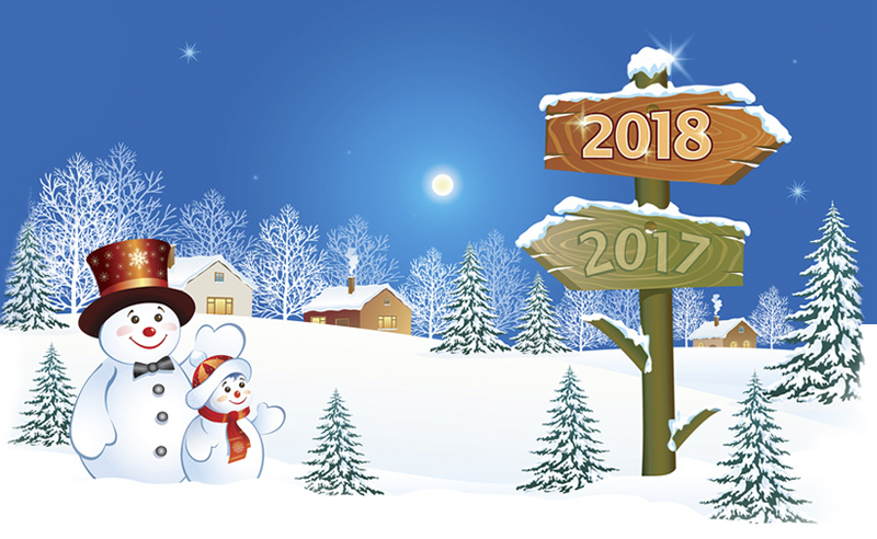Bonne et heureuse Année 2018 New-year-11a